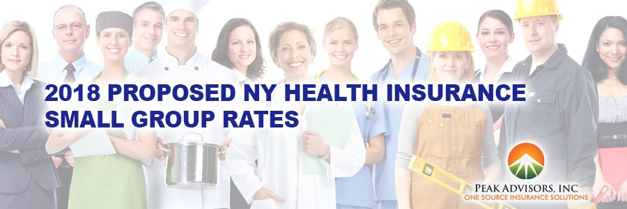 2018 Proposed NY Health Insurance Small Group Rates