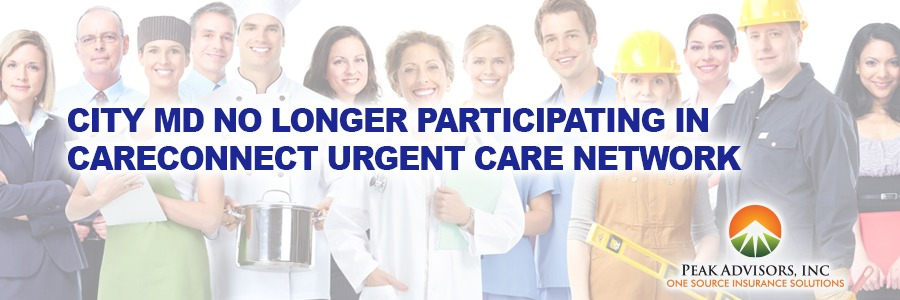 City MD No Longer Participating In CareConnect Urgent Care Network