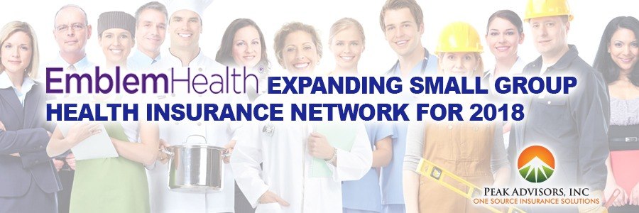 Emblem Health Expanding 2018 Small Group Health Insurance Network