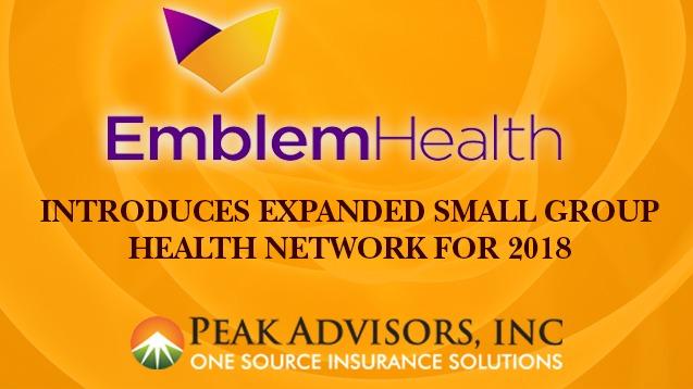 EmblemHealth NY small group health insurance